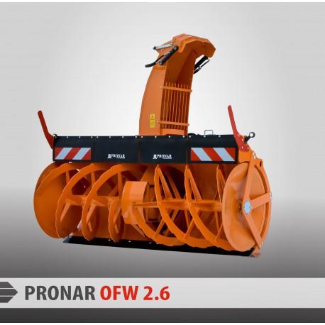 Снегоочиститель роторный PRONAR OFW 2.6