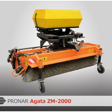 Подметально-Уборочная Машина AGATA ZM1250/ ZM-1400/ ZM-1600/ ZM-2000