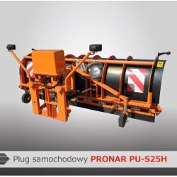 Снегоотвалы автомобильные сегментные PU-S25H, PU-S32H, PU-S35H