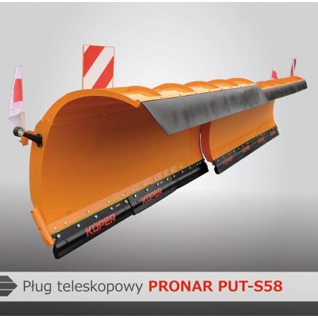 Cнегоотвал автомобильный раздвижной PUT-S58