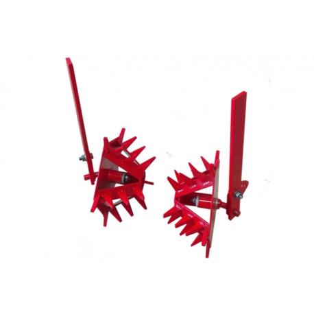 Полольники-рыхлители (еж со стойками, 5 режущих кромок) для мотоблоков Беларус МТЗ 09Н, 012WM