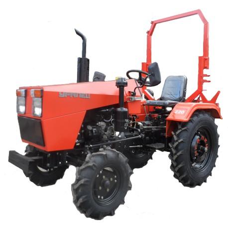 Мини-трактор Уралец-220 с блокировкой дифференциала