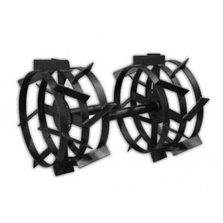 Металлические колеса для пахоты КП-430х200 с длинной втулкой