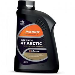 Масло моторное полусинтетическое PATRIOT G-Motion 5W30 4Т ARCTIC