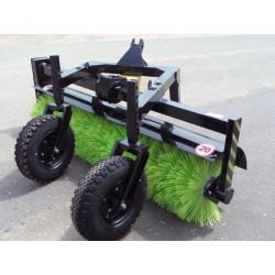 Оборудование щеточное для МТЗ-320 с колесами 4х8