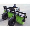 Оборудование щеточное для МТЗ-82 с колесами 5х10 с поливочной емкостью 300 л