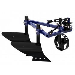Плуг двухкорпусный для мини-трактора на 1 точку крепления