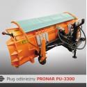 Снегоотвалы PRONAR PU-3300 и PU-2600