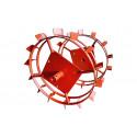Колеса универсальные металлические КУМ 540 для мотоблоков Нева, Ока