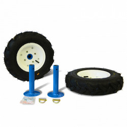 Комплект дополнительных транспортных колес 4,00-8